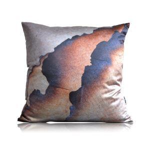 Modern Fire Texture Pattern Satin Printing Pillow