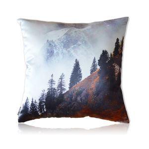 Modern Northern Europe Landscape Patterns Satin Printing Pillow
