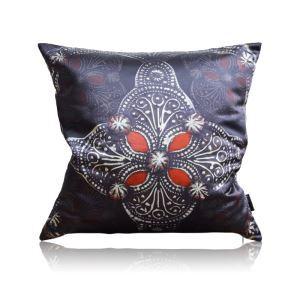 Modern Retro Gothic Pattern Satin Printing Pillow Cover