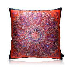 European Classical Paisley Pattern Stain Printing Pillow