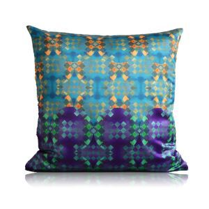 European Classical Geometric Patterns Stain Printing Pillow Cover