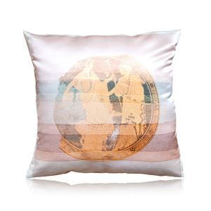 European Classical Greek Frescoes Pattern Stain Printing Pillow