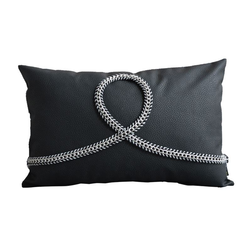 Home Textiles - Throws & Pillows - PU Pillows - Modern Industrial Style Lichee Pattern Like ...