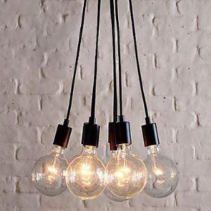 (In Stock) 60W E27/E26 Minimalist Pendant Light with 7 Lights