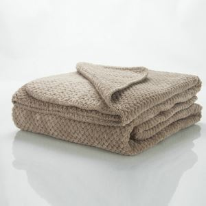 Modern Super Soft Big Waffle Large Khaki Blanket Air Conditioning Blanket Autumn And Winter Blankets Sofa Blanket Sheets