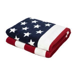American Flag Lamb Velvet Coral Velvet Double-sided Thicken Blanket Children Blanket Leisure Blanket