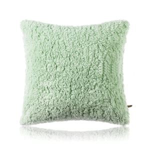 Nordic Modern Solid Color Cashmere Sofa Large Pillow Cover 8 Colors 65*65cm