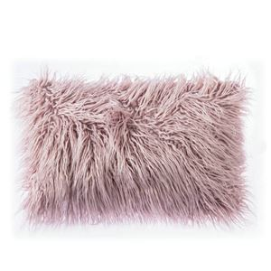 Nordic Modern Plush Faux Beach Wool Fur Solid Color Sofa Pillow Cover Office Large Cushions Cover 5 Colors 30*50cm