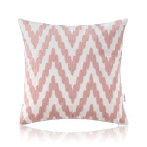 Nordic Modern Stereo Embroidery Wave Pattern Pattern Pink Pillow Sofa Office Bedroom Pillow