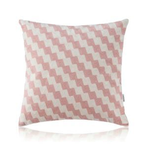 Nordic Modern Stereo Embroidery Scaling Ladder Pattern Pink Pillow Sofa Office Bedroom Pillow