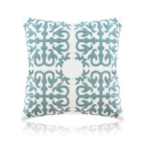 Nordic Modern Stereo Embroidery Couple Swallow Pattern Water Blue Pillow Sofa Office Bedroom Pillow