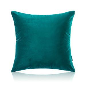 Modern Simple Velvet Solid Color Plush Sofa Pillow Cover Car Office Cushions Cover 5 Colors 50*50cm