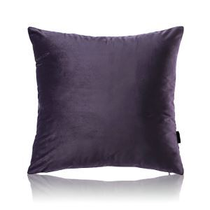 Modern Simple Velvet Solid Color Plush Sofa Pillow Cover Car Office Cushions Cover 10 Colors 50*50cm