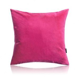 Modern Simple Velvet Solid Color Plush Sofa Pillow Cover Car Office Cushions Cover 6 Colors 50*50cm