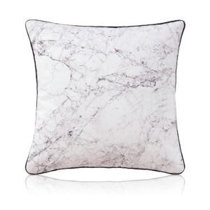 Nordic Modern Super Soft Velvet Natural Texture Black And White Pattern Pillow Cover Sofa Cushions Cover