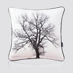 Nordic Modern Super Soft Velvet Black And White Tree Pattern Pillow Sofa Cushions
