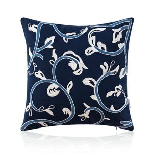 Cotton And Linen Embroidery New Chinese Pattern Cushion Pillow American Style Pillow 2 Colors