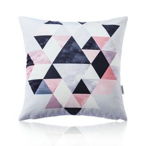 Nordic Fantastic Color Geometric Abstraction Ultra Soft Cotton Sofa Pillow Cover