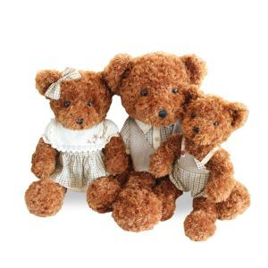 Teddy Bear Doll Plush Toy Bear Cloth Doll Baby Section Small
