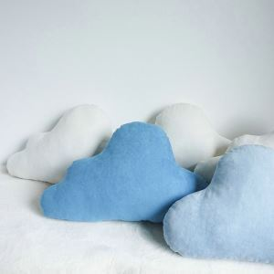 Handmade Custom Suede Cloud Pillow Creative Car Sofa Cushions Waist Pillow Big