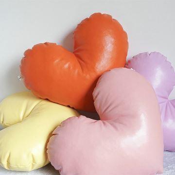Home Textiles Throws Pillows Nap Pillows Candy Color Leather