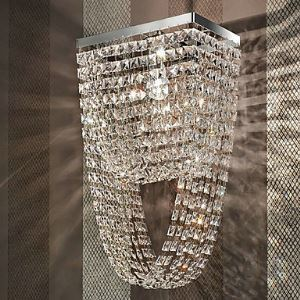 60W Luxuriant Wall Light Crystal Beads Wall Lamp