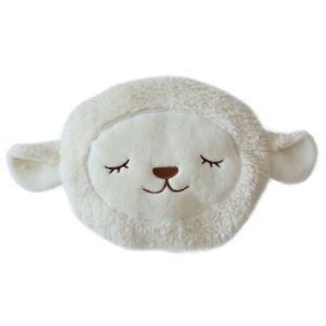 Cute Sheep Shaped Pillow Quilt Warm And Plush Pillow Dual Purpose Products