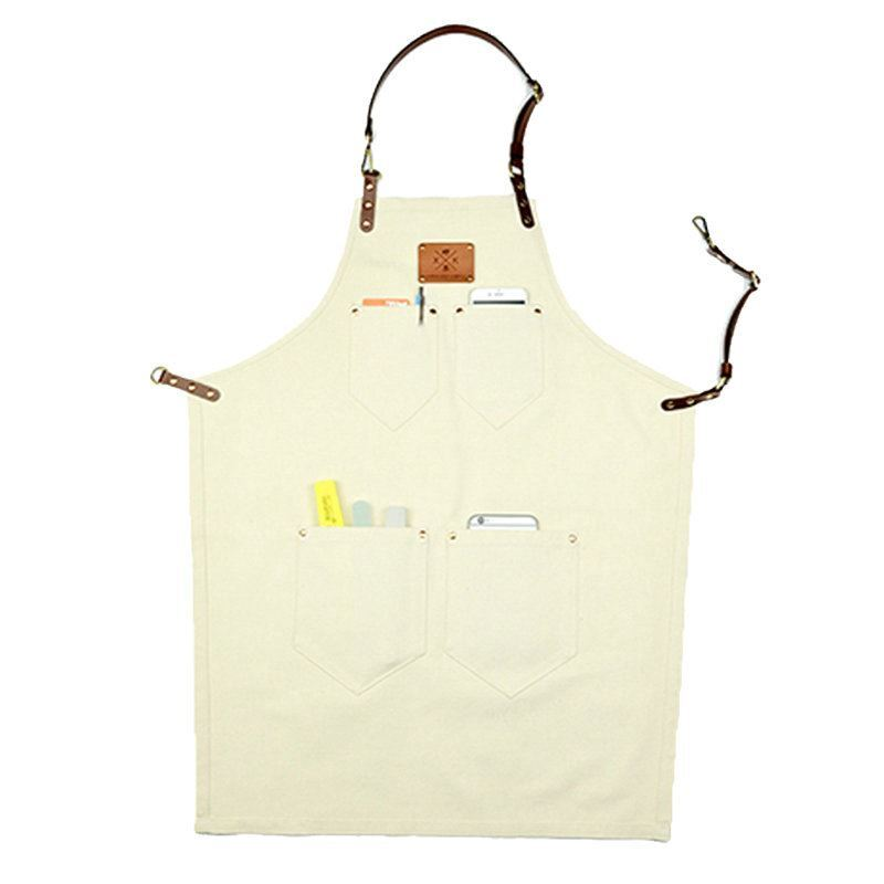 home textiles kitchen u0026 table linens aprons denim leather work aprons barista aprons - Cooking Aprons