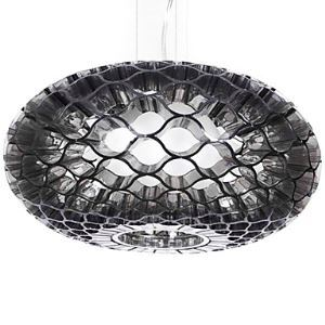 60W Modern Acrylic Pendant Light with 1 Light Honeycomb Design
