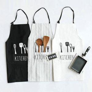 Nordic Cotton Fabric Kitchen Home Baking Men And Women Aprons