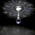 Show details for (In Stock)$9.99 Free Shipping LED Flush Mount Mini Modern Chrome Plating Crystal Light Entrance Lights LED Crystal Flush Mount For Living Room Bedroom Dining Room