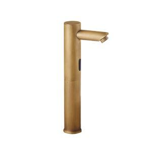 Antique Brushed Finish Bronze-colored Sensor Basin Faucet
