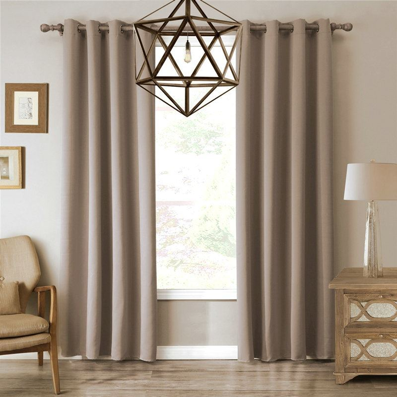 Superb ... Modern Simple Khaki Blackout Curtains Finished Curtains 7 Sizes  Available Img_2 ...
