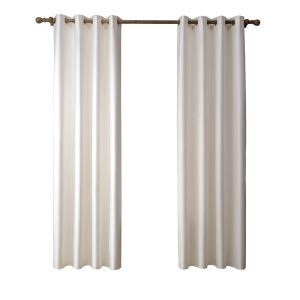 Modern Simple Beige Blackout Curtains Finished Curtains 7 Sizes Available