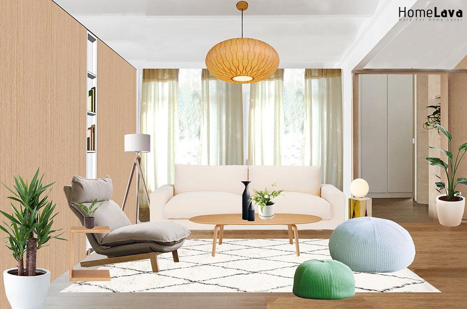 Inspiration for a living room remodel