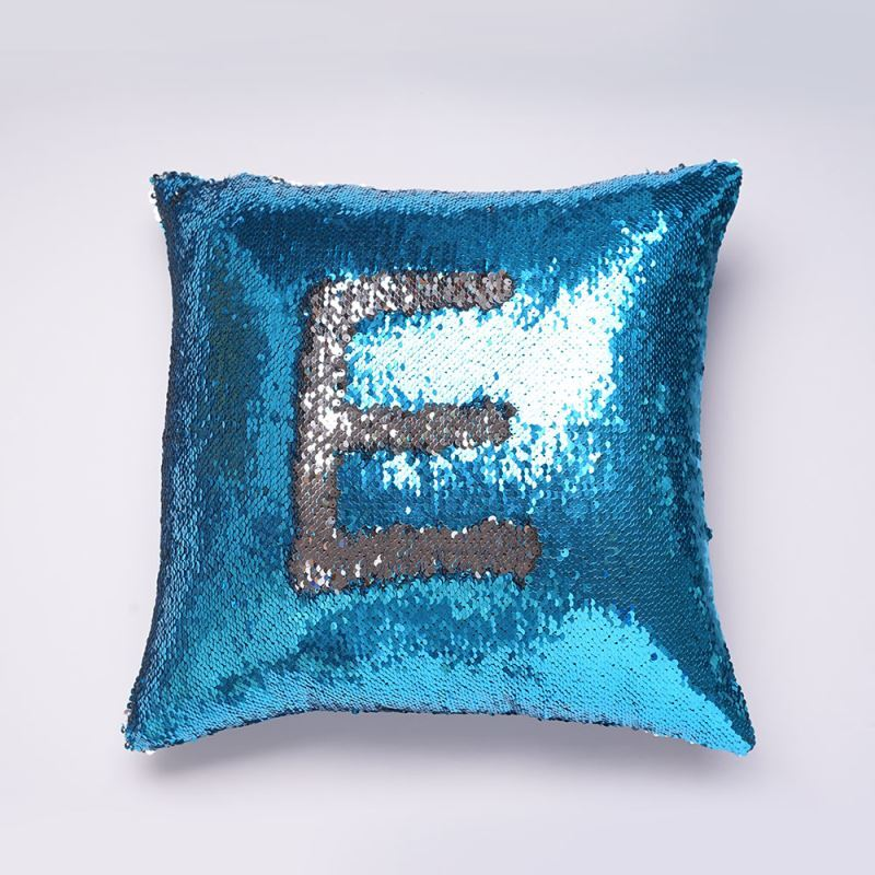home textiles throws u0026 pillows in stock mermaid pillow cover blue