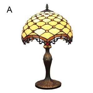 12inch European Pastoral Retro Style Table Lamp Mesh Pattern Shade Bedroom Living Room Dining Room Lights