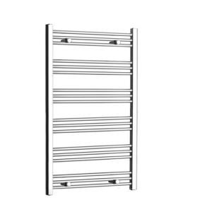 Modern Simple Silver Wall Mounted Stainless Steel Towel Warmer 220W