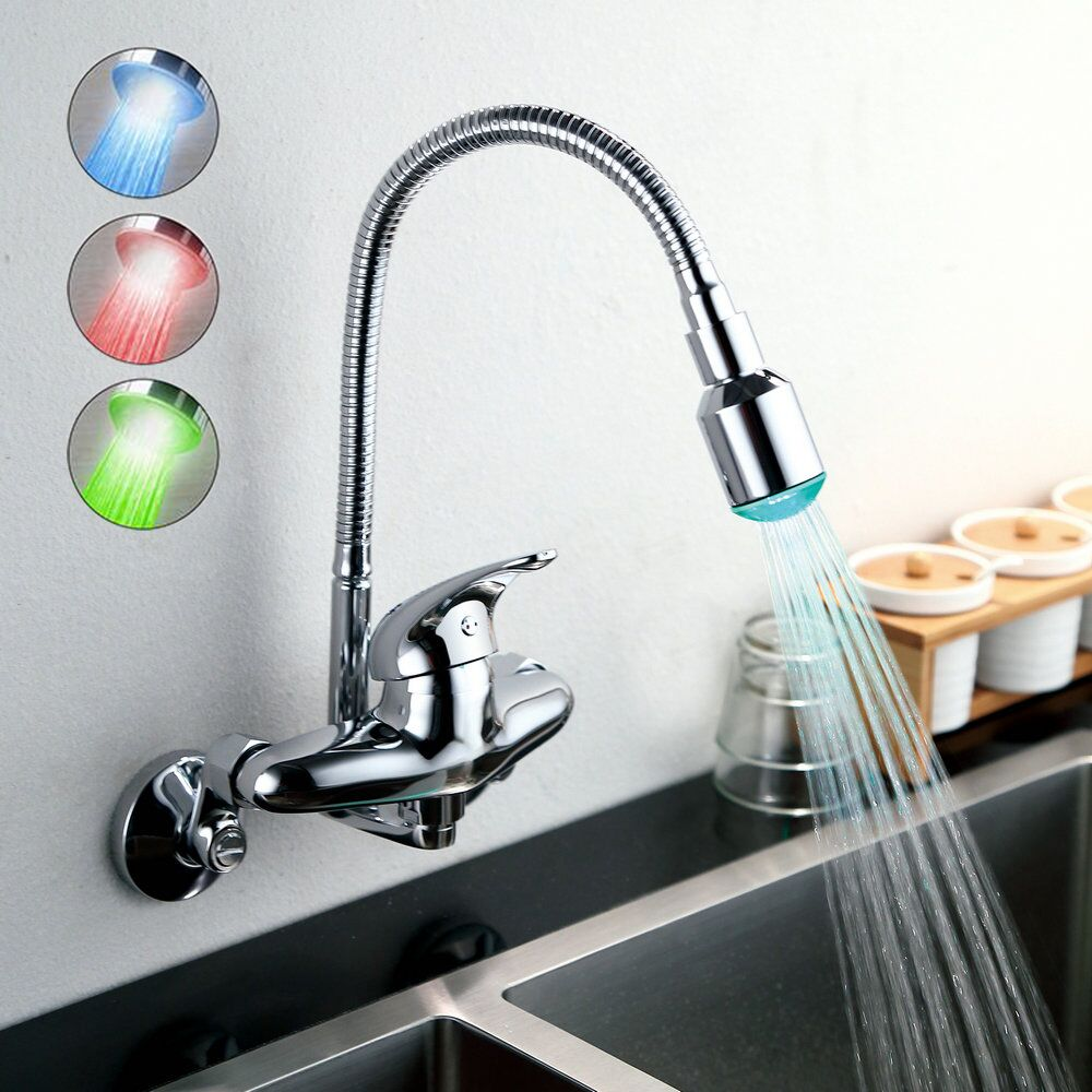 100 led kitchen faucets kitchen exciting delta sink faucets