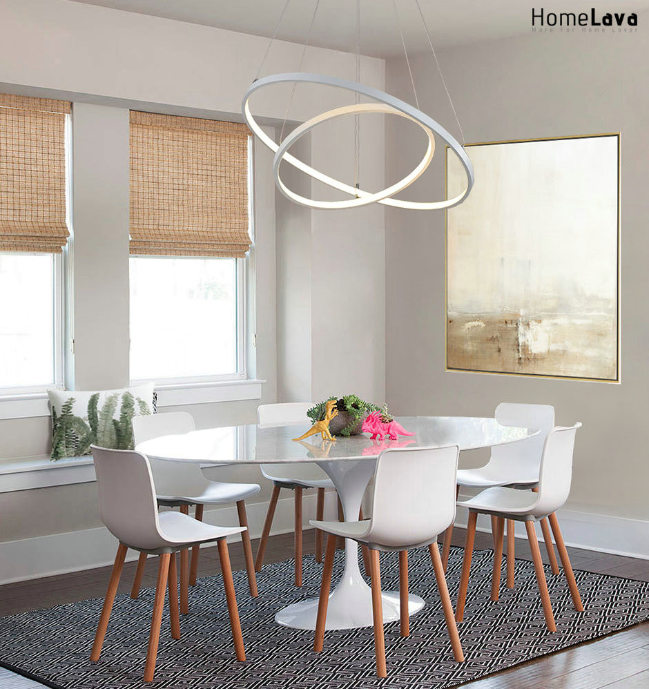 Mid-sized contemporary dining room idea