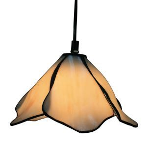 8inch European Pastoral Retro Style Pendant Light Glass Shade Bedroom Living Room Kitchen Light