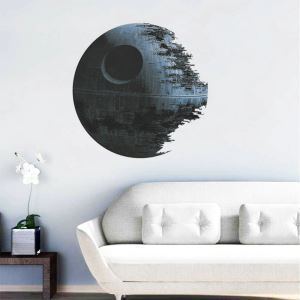 Modern Style Corrosion Planet Colorful PVC 3D Wall Stickers