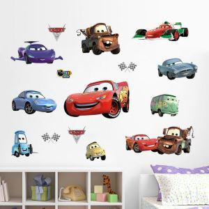 Cartoon Anime the Cars PVC Plane Wall Stickers