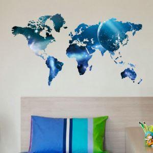 Modern Style Interstellar Map PVC 3D Wall Stickers