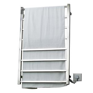 70W Elegance Wall Mount Square Pipe Towel warmer Drying Rack