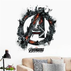 Modern Style The Avenger Alliance PVC 3D Wall Stickers