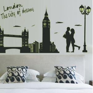 Fancy City London Noctilucent PVC Plane Wall Stickers