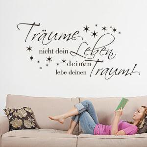 German Traume Little Stars PVC Plane Wall Stickers