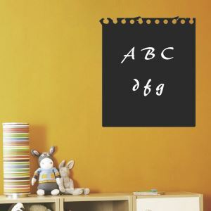 Calendar Style Blackboard Office Living Room Entrance PVC Plane Wall Stickers