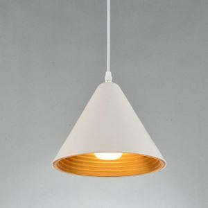Nordic Simple Pendant Light White Creative Dining Room Study Room Bedroom light Single Light